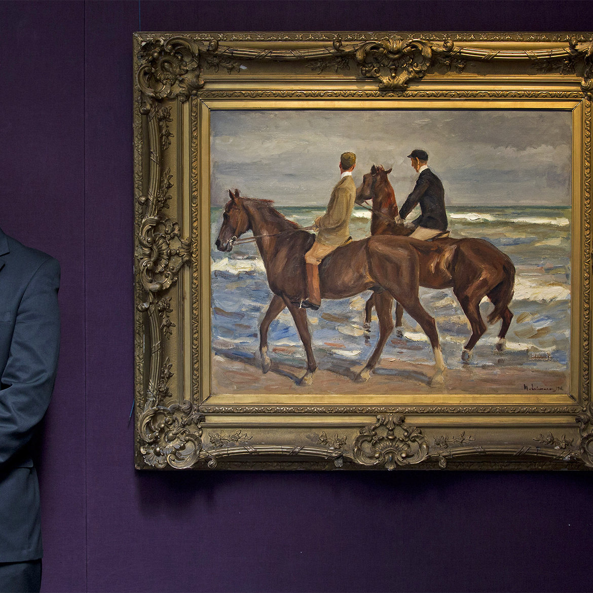 Nazi-Looted Painting on Display at Los Angeles County